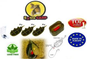 Extra Carp Method Feeder IN LINE SET 3+1